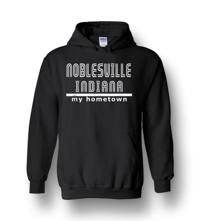 Noblesville Indiana Tank Top Heavy Blend Hoodie