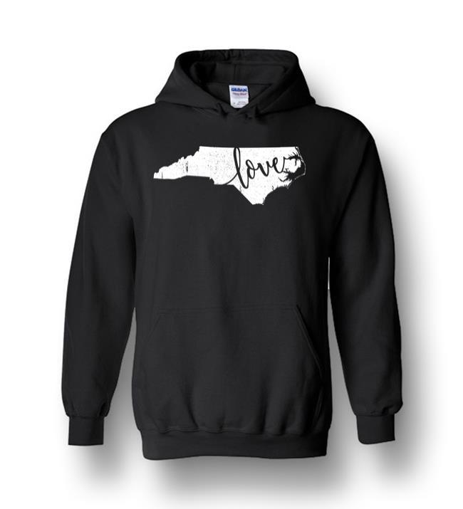 North Carolina Love State Nc Home Vintage Heavy Blend Hoodie