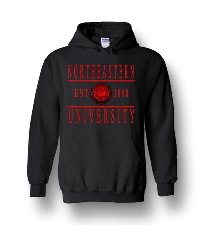 Northeastern 1898 University Apparel Heavy Blend Hoodie